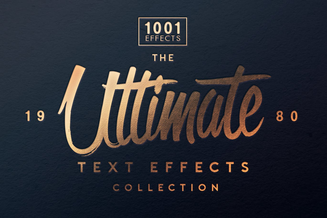 The Ultimate 1001 Text Effects