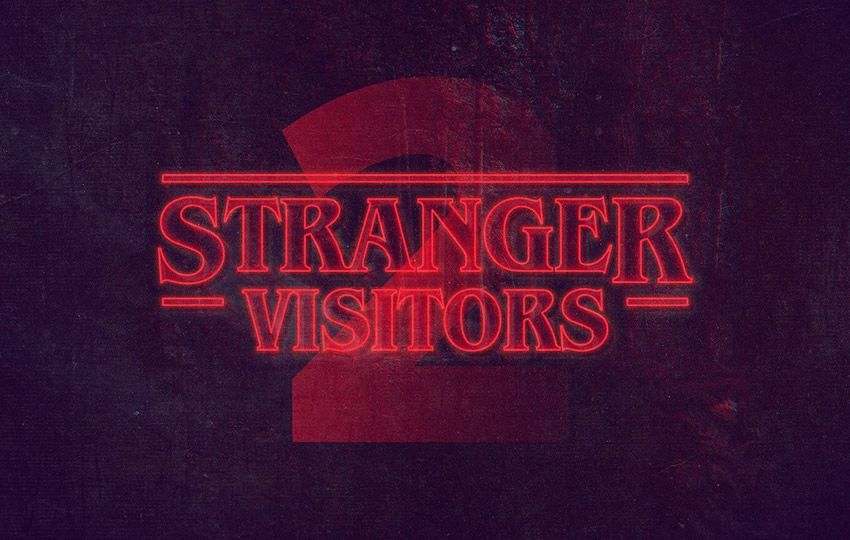 Free Stranger Things Photoshop Text Style