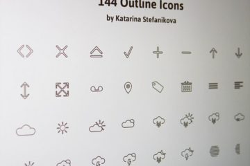 144 Outline Icons