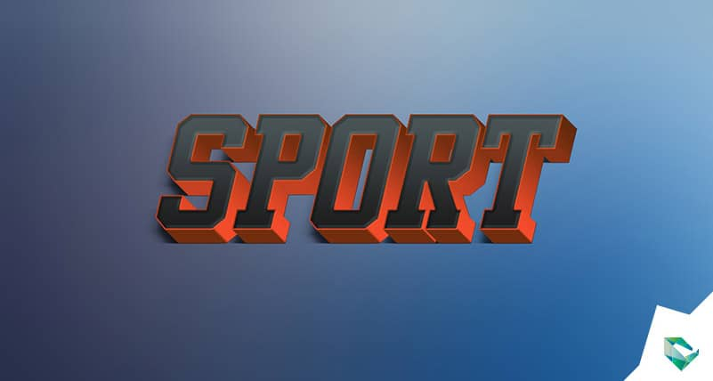 Sport Free 3d Text Effects Style