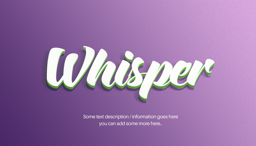 Layer Text Effect PSD