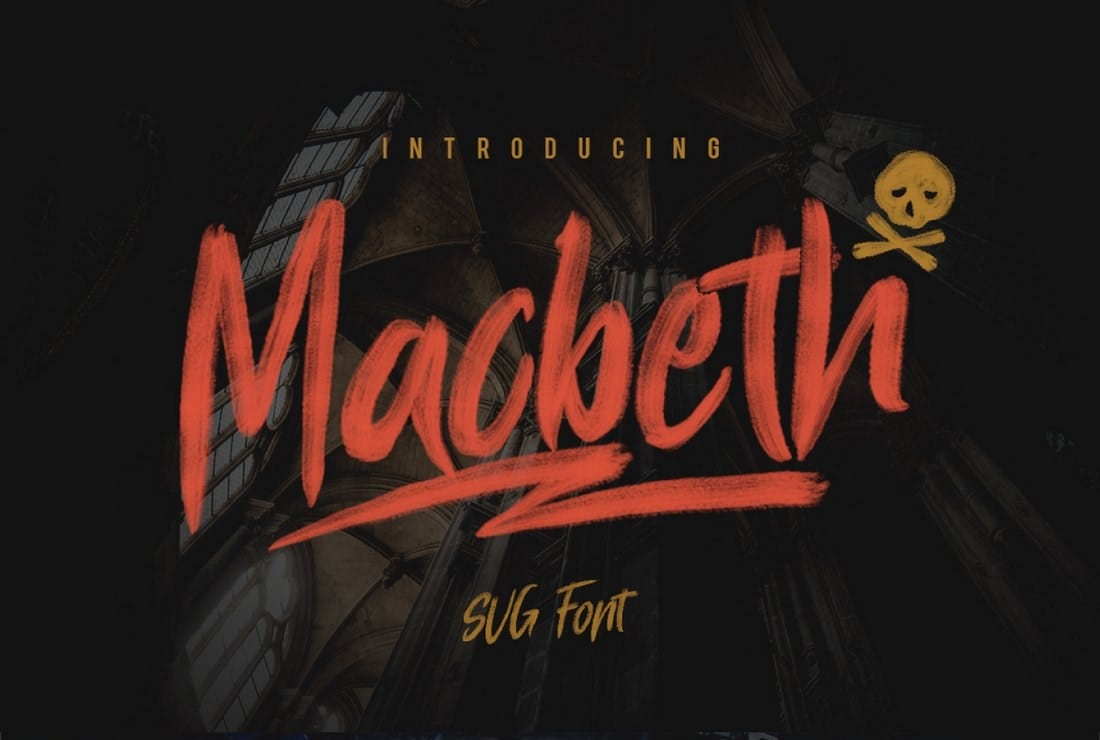 Macbeth – Free SVG Font