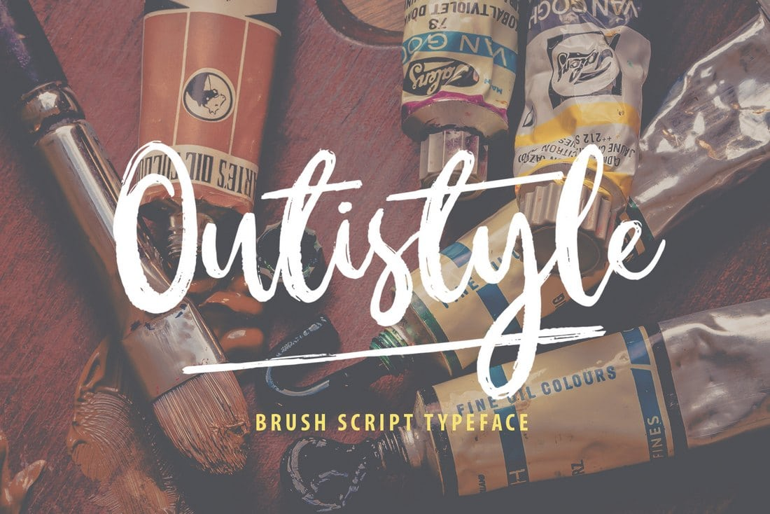 Outistyle Free Font