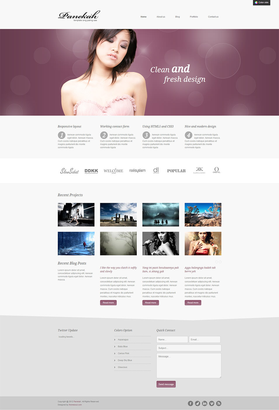 Creative Joomla Photography Template