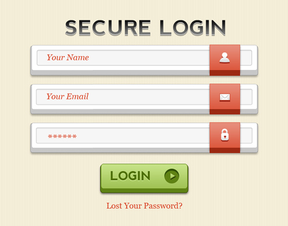 Login Form by Rafi