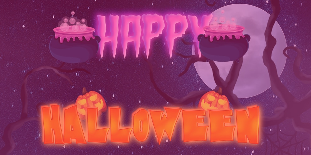 Free Halloween Text Style PSD