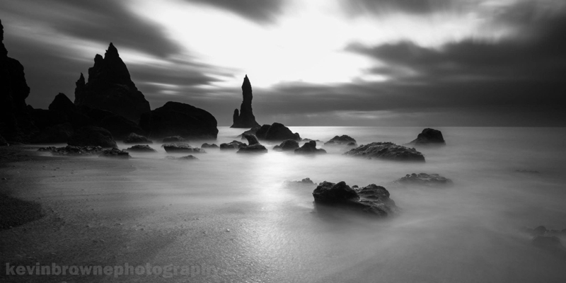 Vik Beach Stacks, Iceland