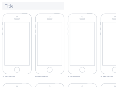 iPhone 5 Wireframe Template Sketch Resource