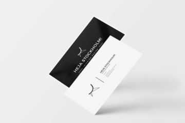 8 Business Card Mockups