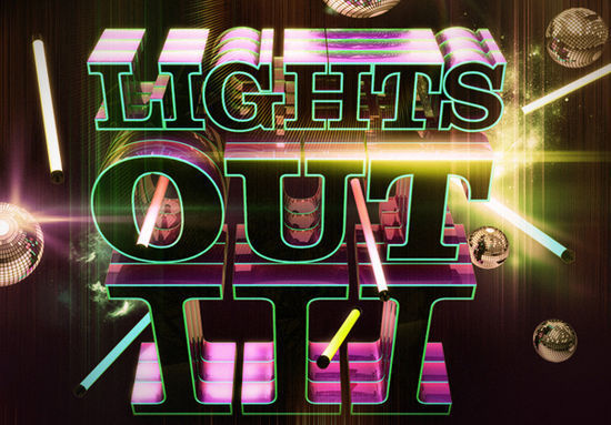 Create Astonishing Nightclub Themed 3D Typography