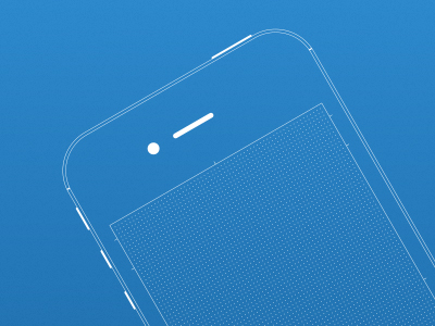 iPhone Wireframe Sketch Kit