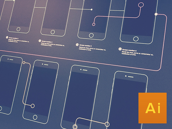 DOWNLOAD WIREFRAME FOR iPHONE 6 AND iPHONE 6 plus