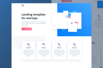 Free Agnes Landing Page Template for Startups