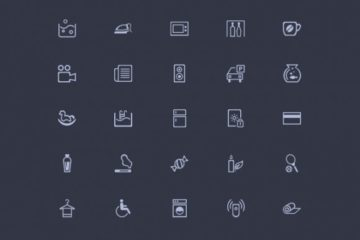 Amenities 50 Misc Icons