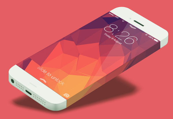 Apple iPhone 7 Mock-Up in PSD