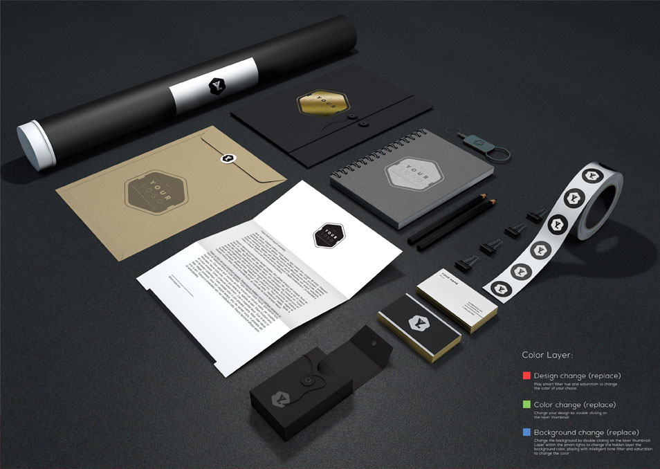 Branding Documents Mockup