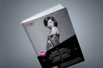 Fashion Book Cover Mockup
