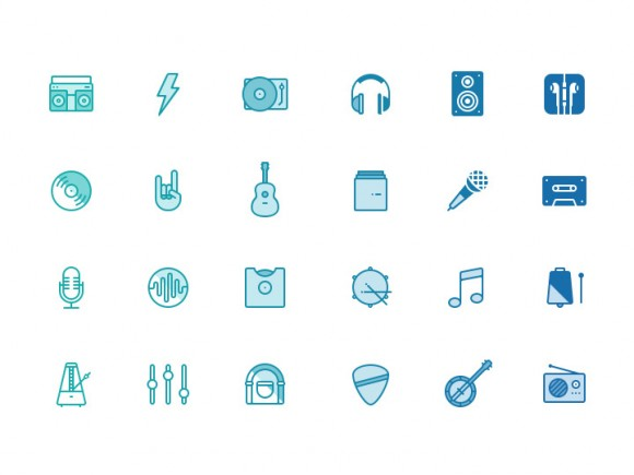 Musicons Music Icons
