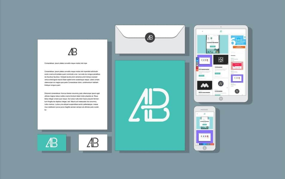 Branding and Identity Mockup