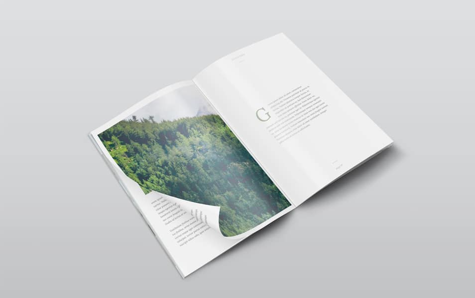 A4 Isometric View Magazine