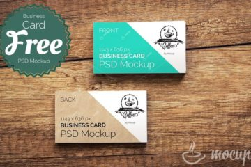 CI Business Card Mockup