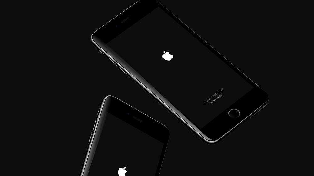 Jetblack IPhone Mockup