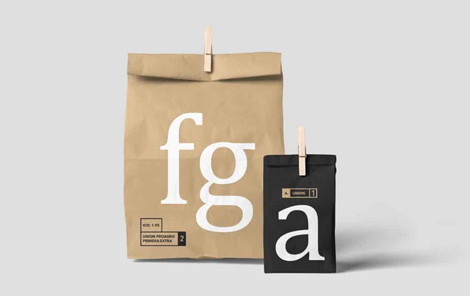 Clipped Paper Bag Mockup