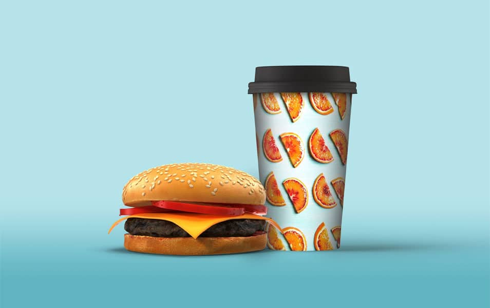 Cold Drink Cup Mockup