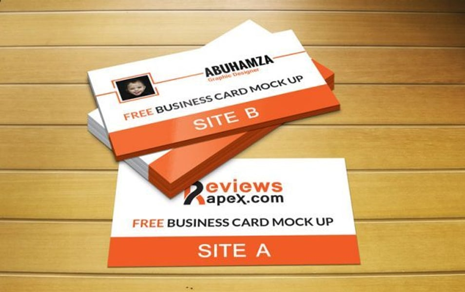 Photorealistic Business Card Template