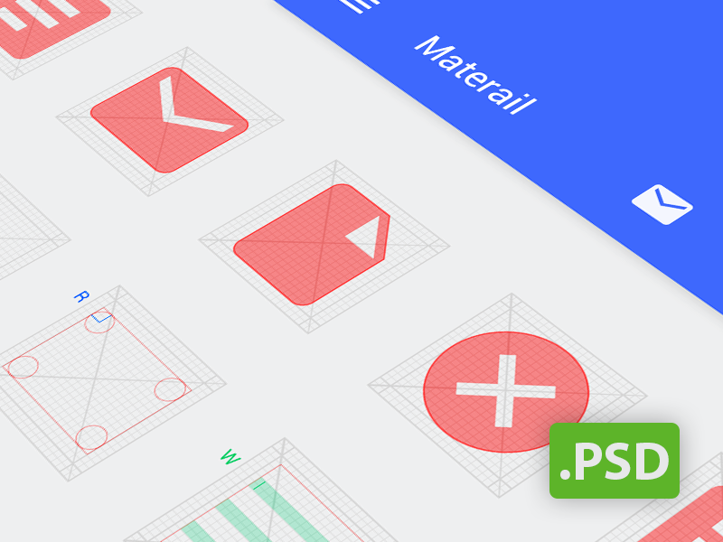 Android Grids Template