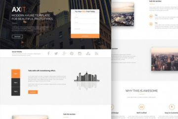 Axit Landing Page