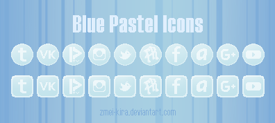 Blue Pastel icons