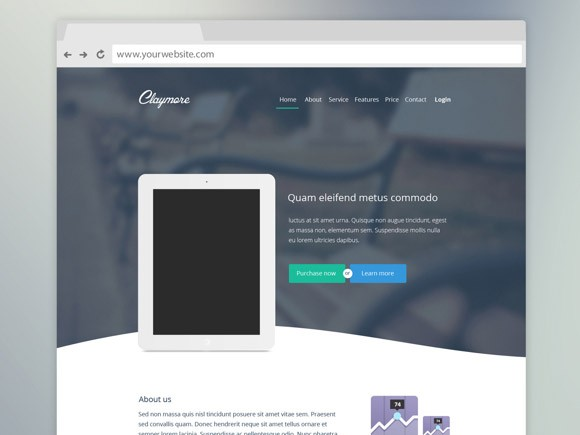Claymore Landing Page
