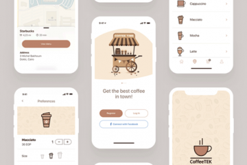 Get This Coffee App Design Template for Sketch