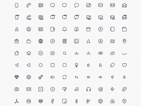 Compacticons Tiny Icons