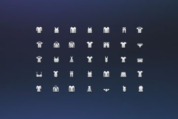 Costume Icon Set