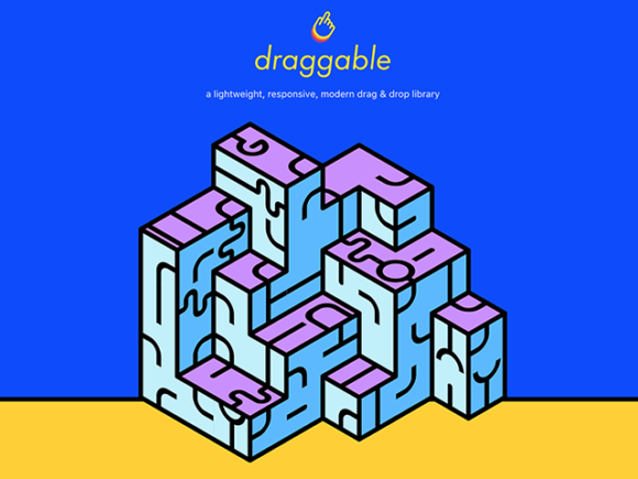 Free Download Draggable JS Library