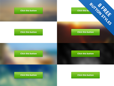 FREE DOWNLOAD: 8 PSD Button Styles