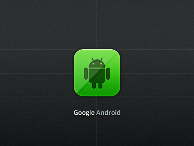Free Google Android Icon (PSD)