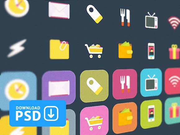 Ficons Colorful Icons
