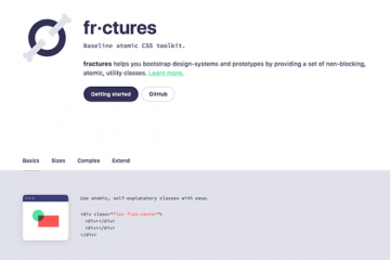 Get this Fractures CSS Toolkit for Free