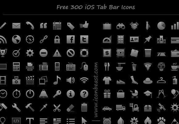 iOS Tab Bar Icons