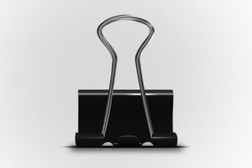 Free Download Metal Clip in PSD