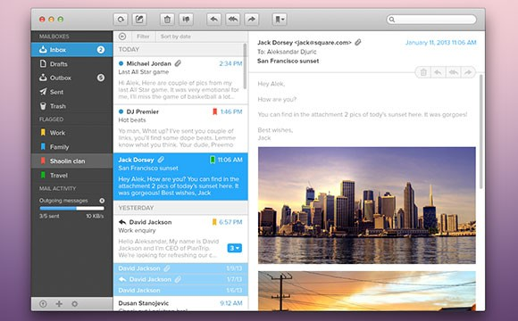 Grab This PSD Mail App GUI for Free