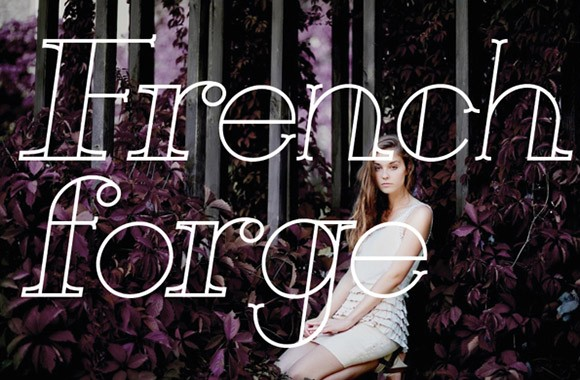 French Forge Font