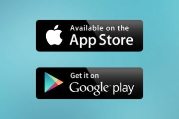 Google Play and Apple Store Badges