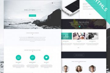 Halcyon Days Website Template
