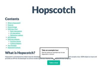 Hopscotch Tour Across Pages