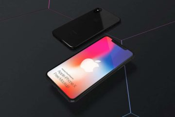 Front iPhone X Mockup