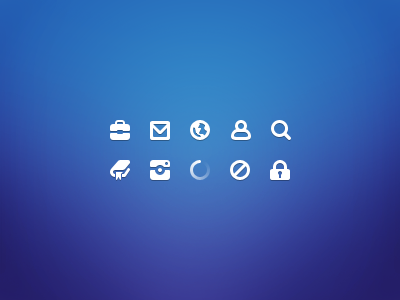Free Download 20×20 Icons in PSD
